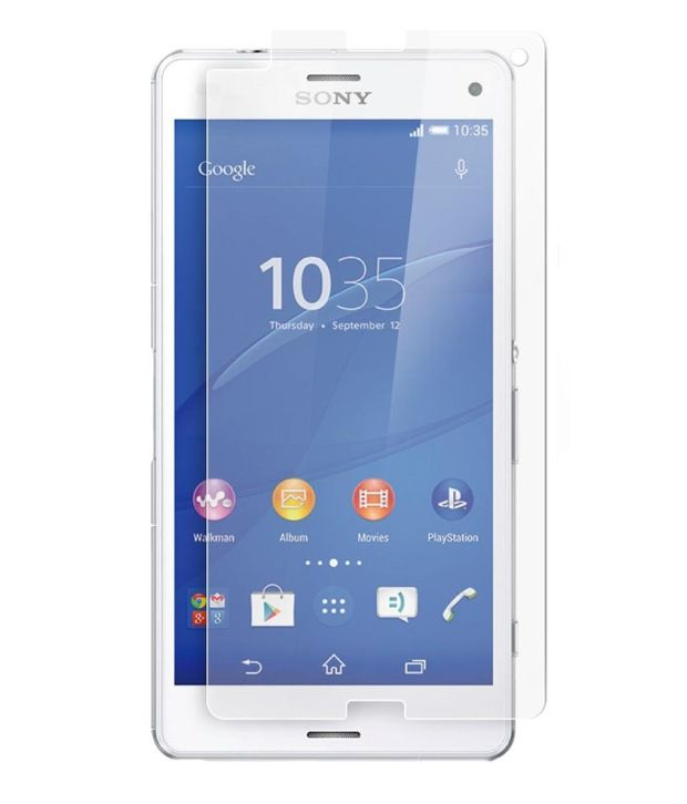 Sony Xperia T3 Tempered Glass  Screen Guard by Buds
