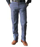 Sense Black Comfort Formal Trouser