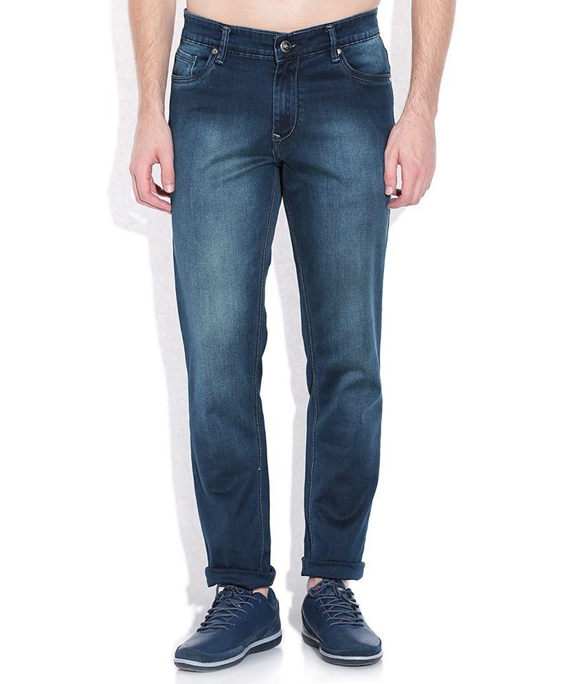 American Swan  Blue Slim Fit Jeans