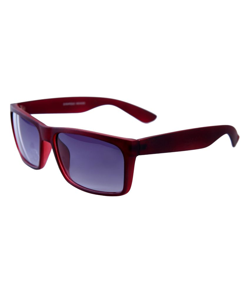 Elijaah Brown Wayfarer Non Metal Sunglasses