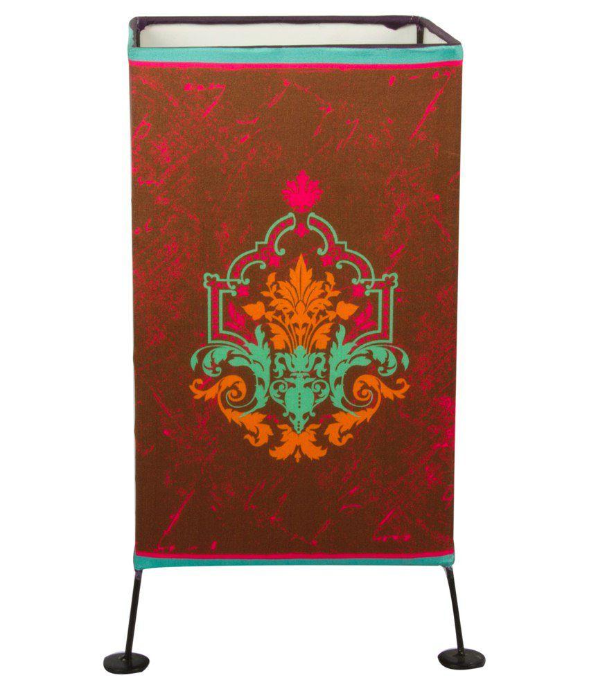 Design Guns Fabric Baroque Table Lamp