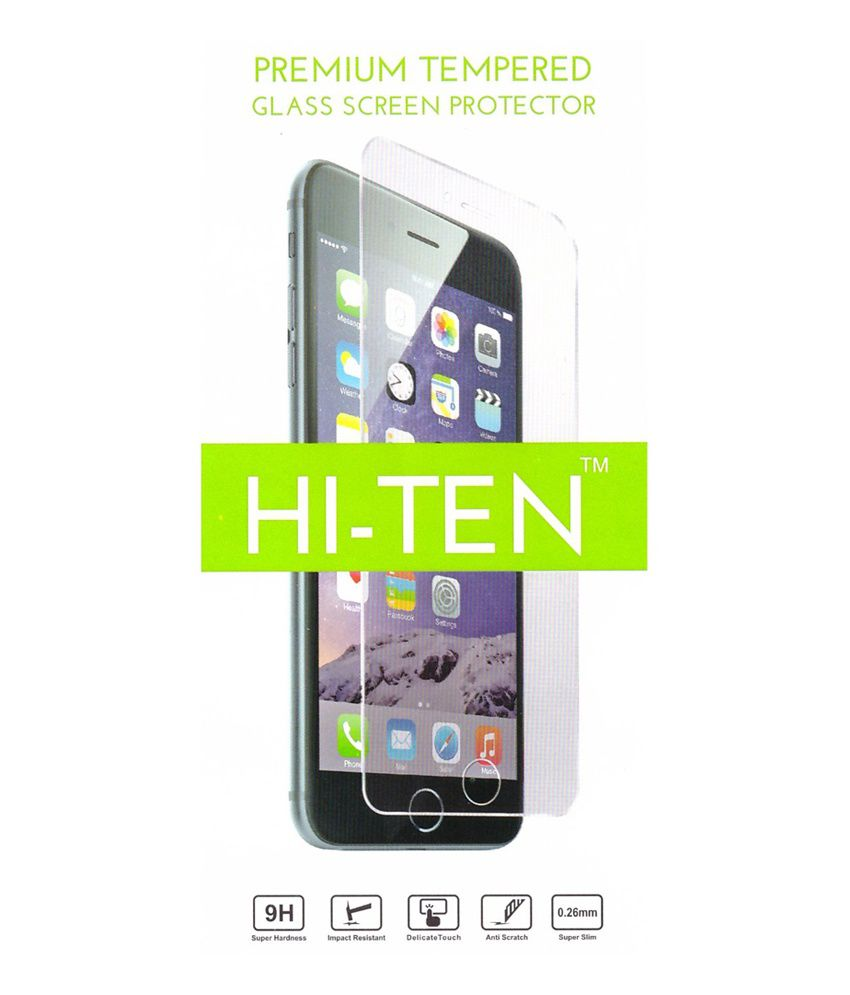 Hi-ten Tempered Glass For Micromax Canvas Knight A350
