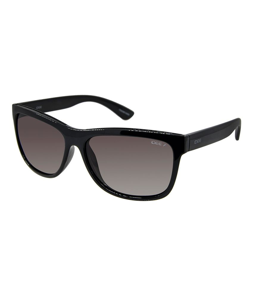 polarised sunglasses price  Idee S1991 C1p 58 Black And Brown Polarised Wayfarer Sunglasses ...