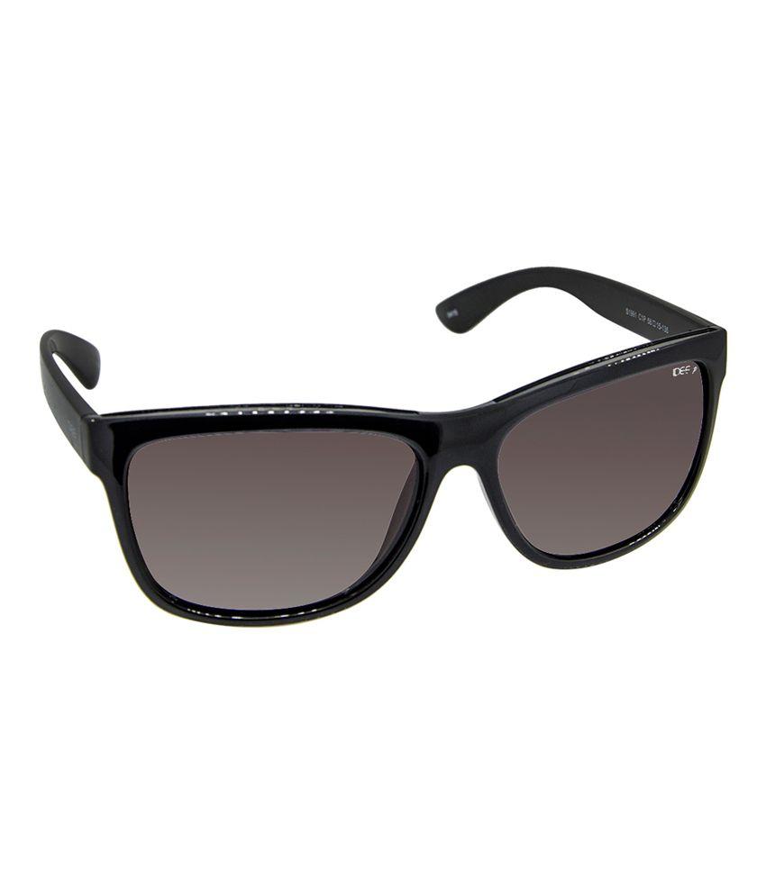 polarised sunglasses price  Idee S1991 C1p 58 Black And Brown Polarised Wayfarer Sunglasses ...