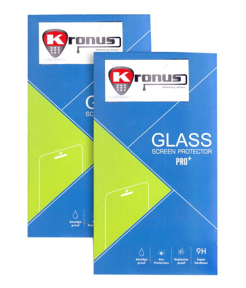 Kronus Tempered Glass Screen Protector For Motorola Moto E(2Nd Gen) - Pack Of 2