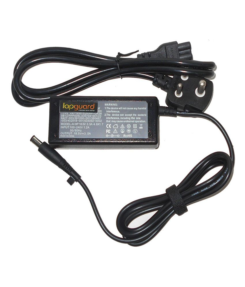 Lapguard Laptop Adapter Fit for HP Compaq nx7300 Notebook PC RU450EA 18.5V 3.5A Thick Pin