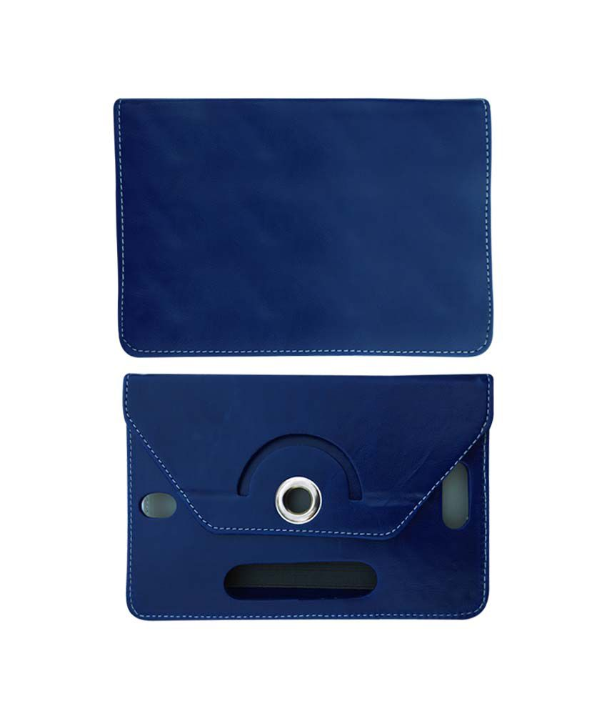 Fastway 8 Inch Rotate Tablet Book Cover For Samsung Galaxy Tab Active - Blue