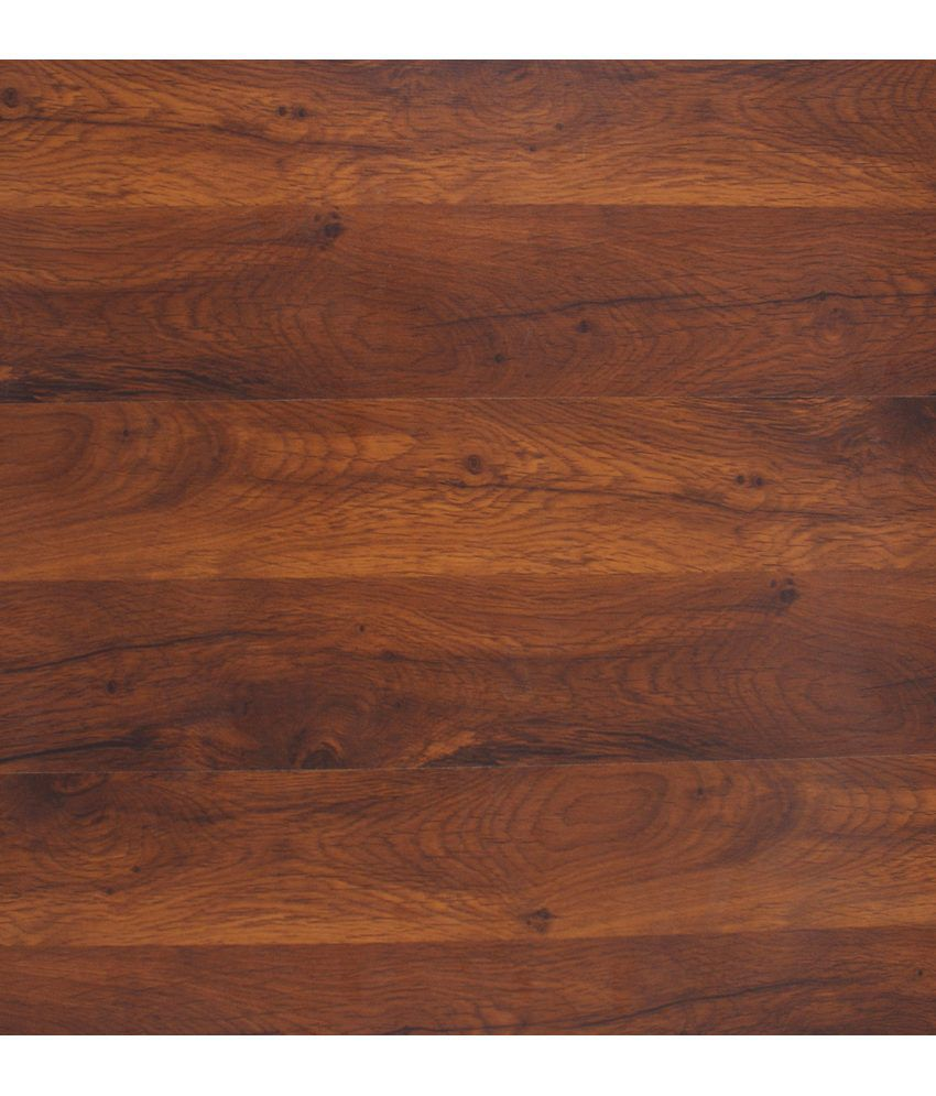 Buy marcopolo laminated wooden flooring 10 planks brown for Laminate flooring india