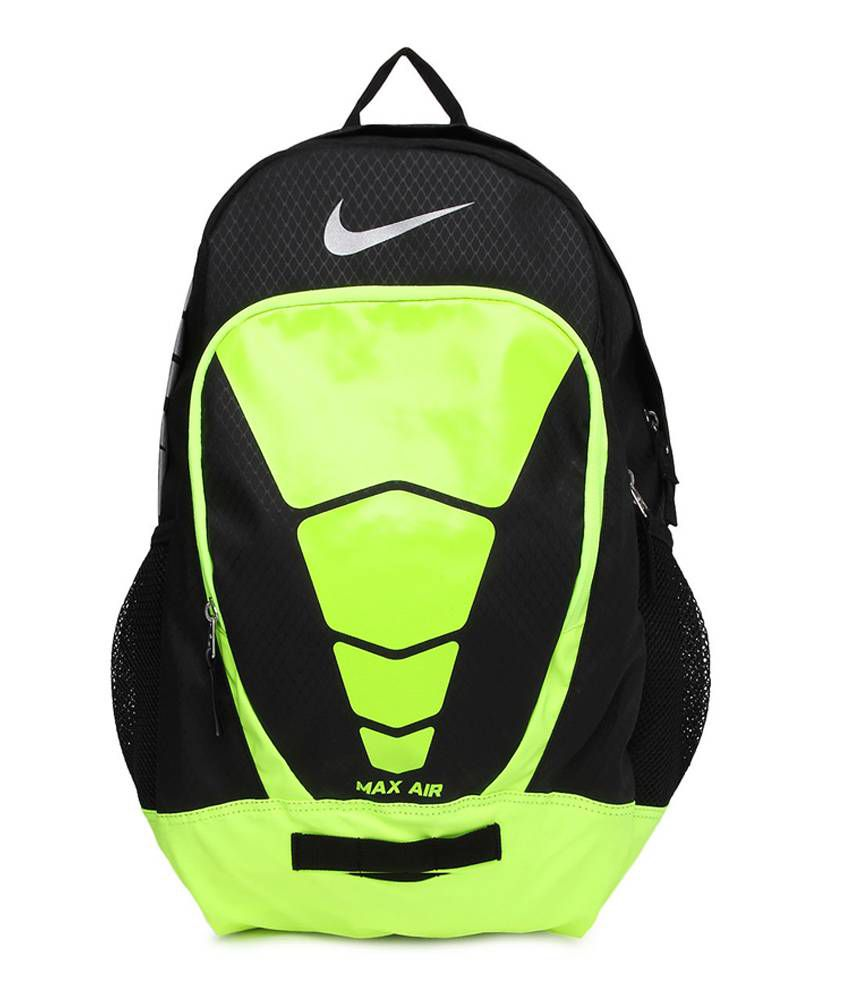 9226e3de71ce Nike Green Polyester Max Air Vapor Backpack - Buy Nike Green Polyester Max  Air Vapor Backpack Online at Best Prices in India on Snapdeal