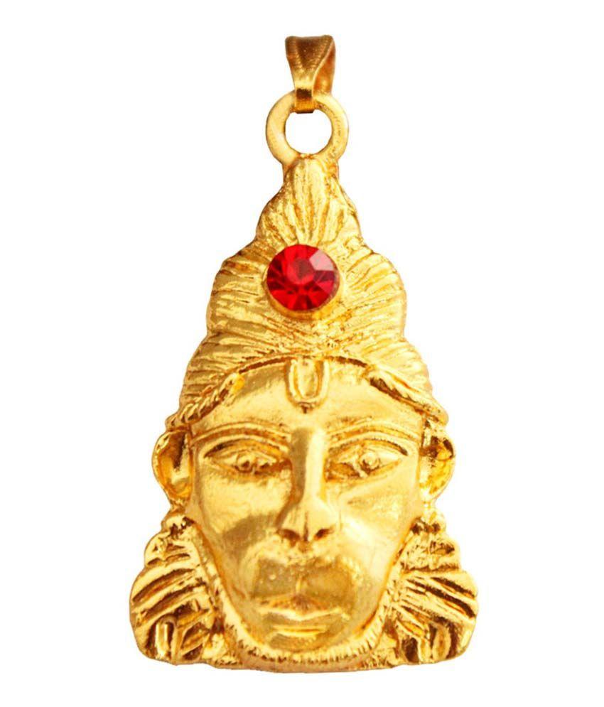 Rich & Famous Golden Hanumanji Pendant