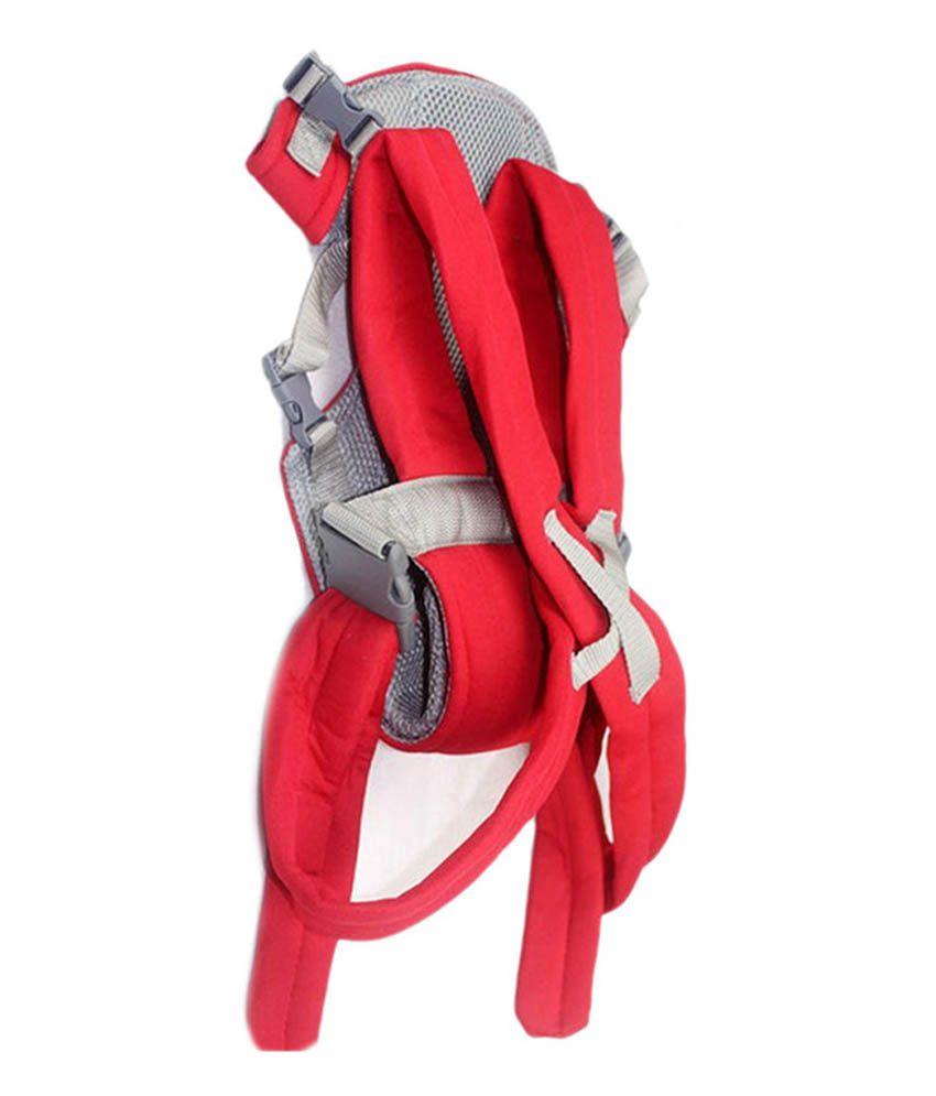 Pindia Fancy Red Kangaroo Style Baby Carrier