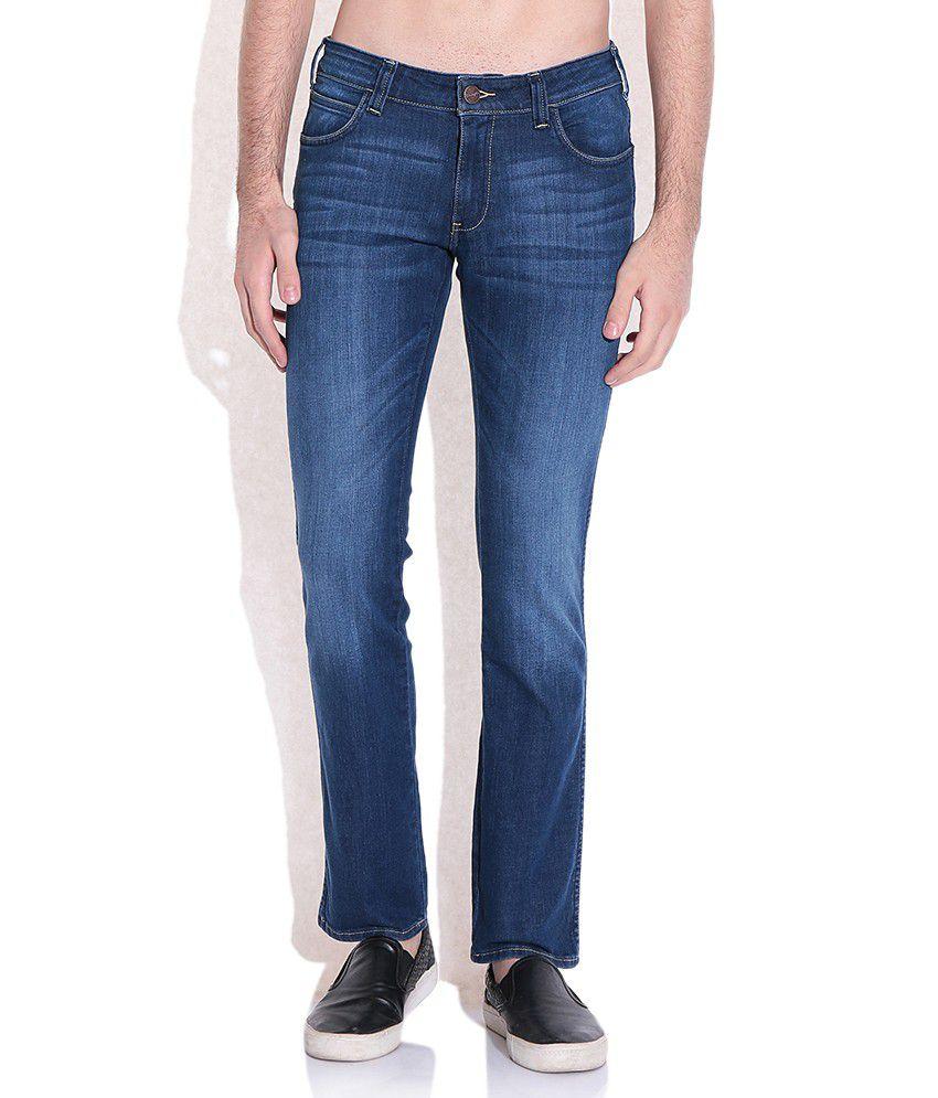 Wrangler Blue Slim Fit Jeans