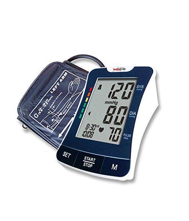 Healthgenie Upper Arm Digital BP Monitor BPM03
