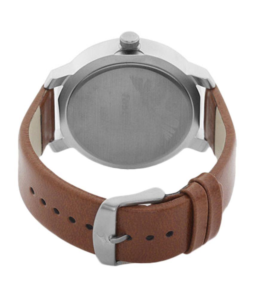 6c1f2756d1 Fastrack White Dial Watch for Men 3120SL01 - Buy Fastrack White Dial ...