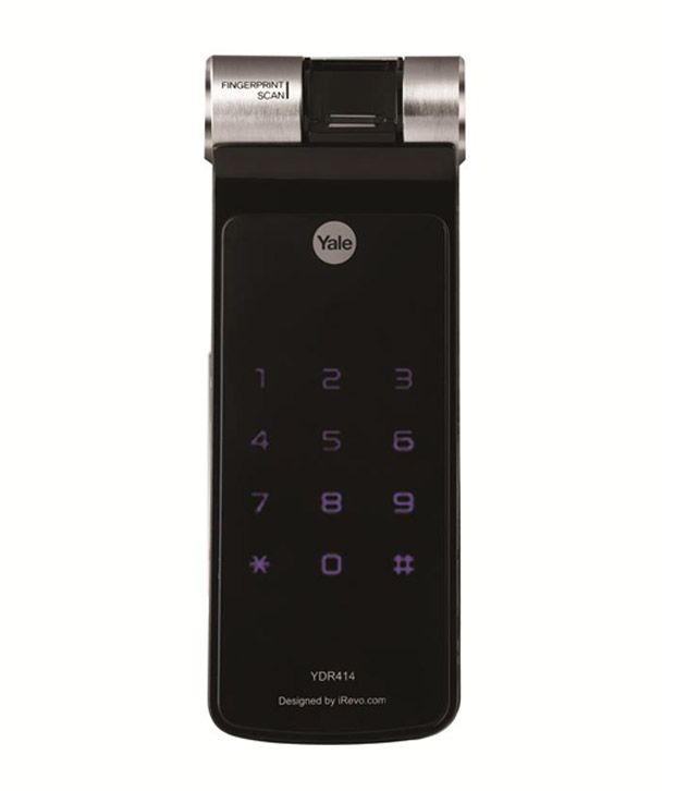 Buy Yale Fingerprint Digital Rim Lock Ydr 414 Online At
