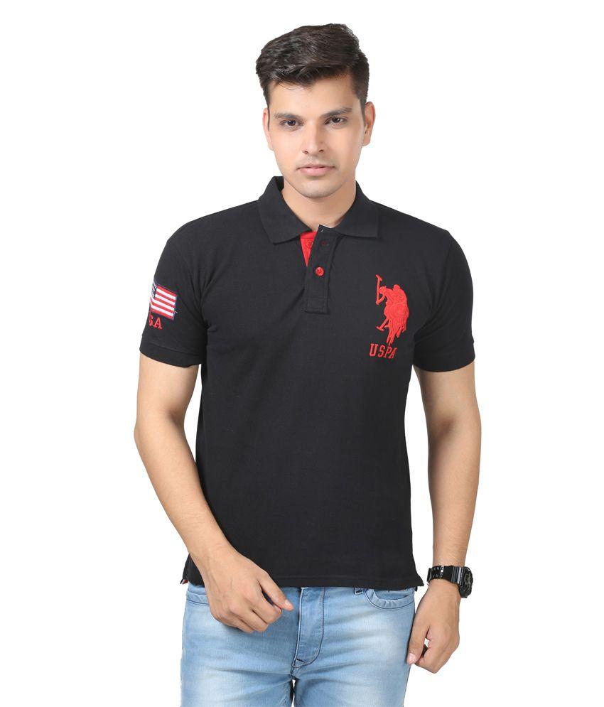 Uspa Black Shirt