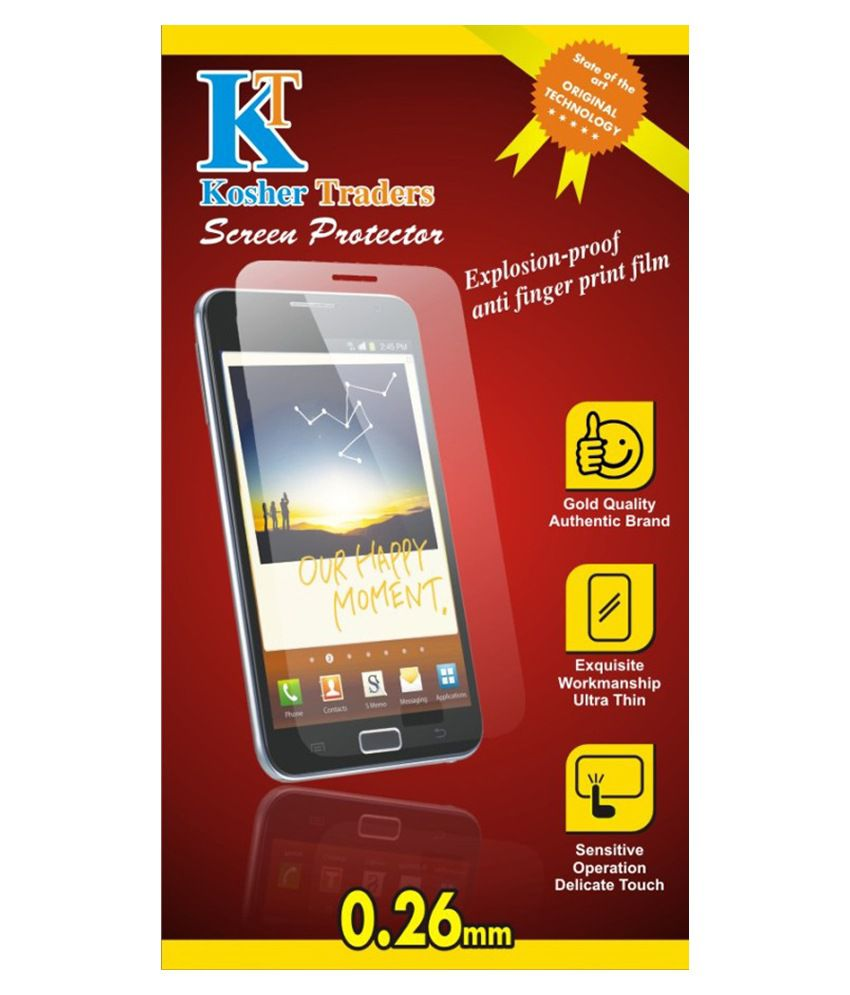 Sony Xperia C4 Clear Screen Guard by Kosher Traders