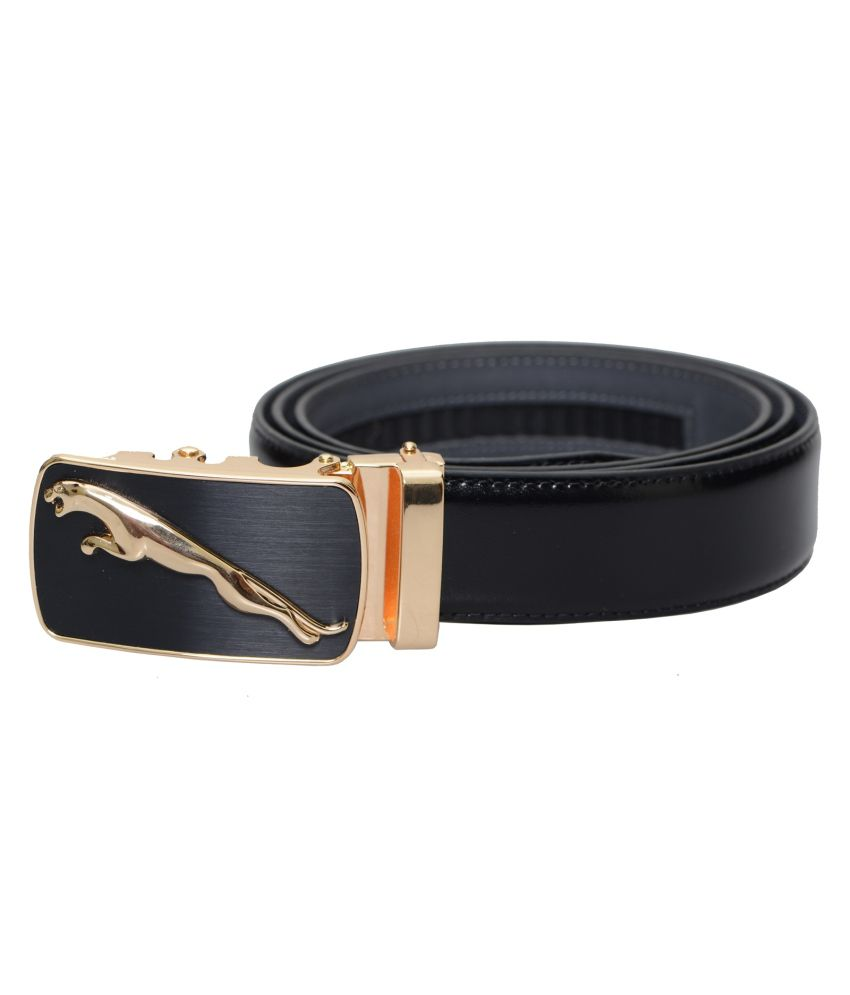 Lifestyle-you Black Formal Single Belt For Men