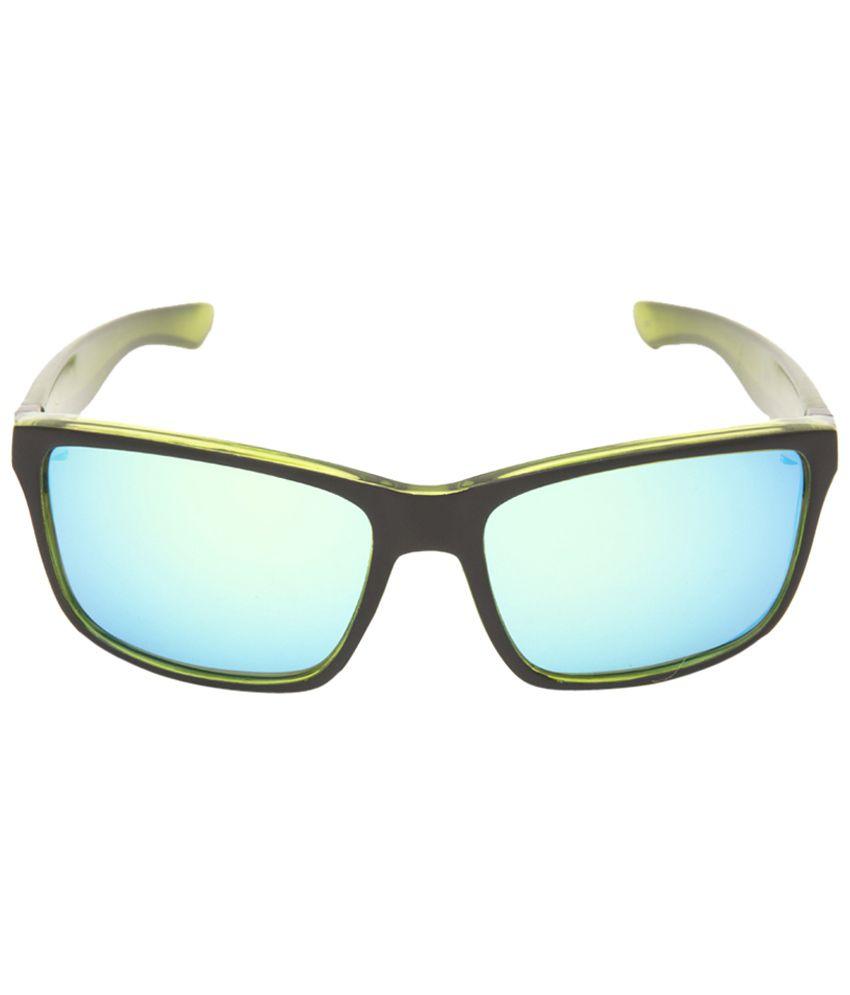 Invu Blue Wayfarer Unisex Sunglasses