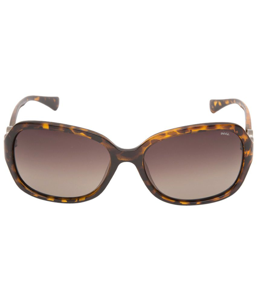b86d89425ddcc Invu Brown Square Sunglasses For Women - Buy Invu Brown Square Sunglasses  For Women Online at Low Price - Snapdeal
