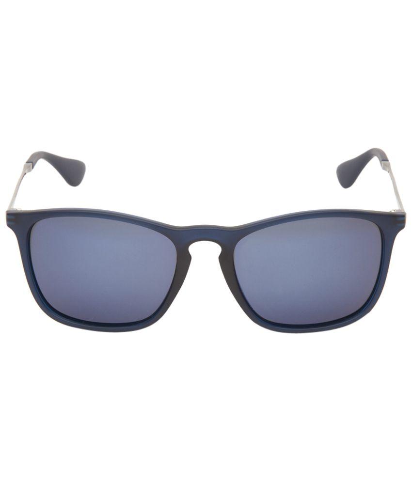 ddf3f03a61 Invu Eye Catching Blue Wayfarer Unisex Sunglasses - Buy Invu Eye Catching  Blue Wayfarer Unisex Sunglasses Online at Low Price - Snapdeal