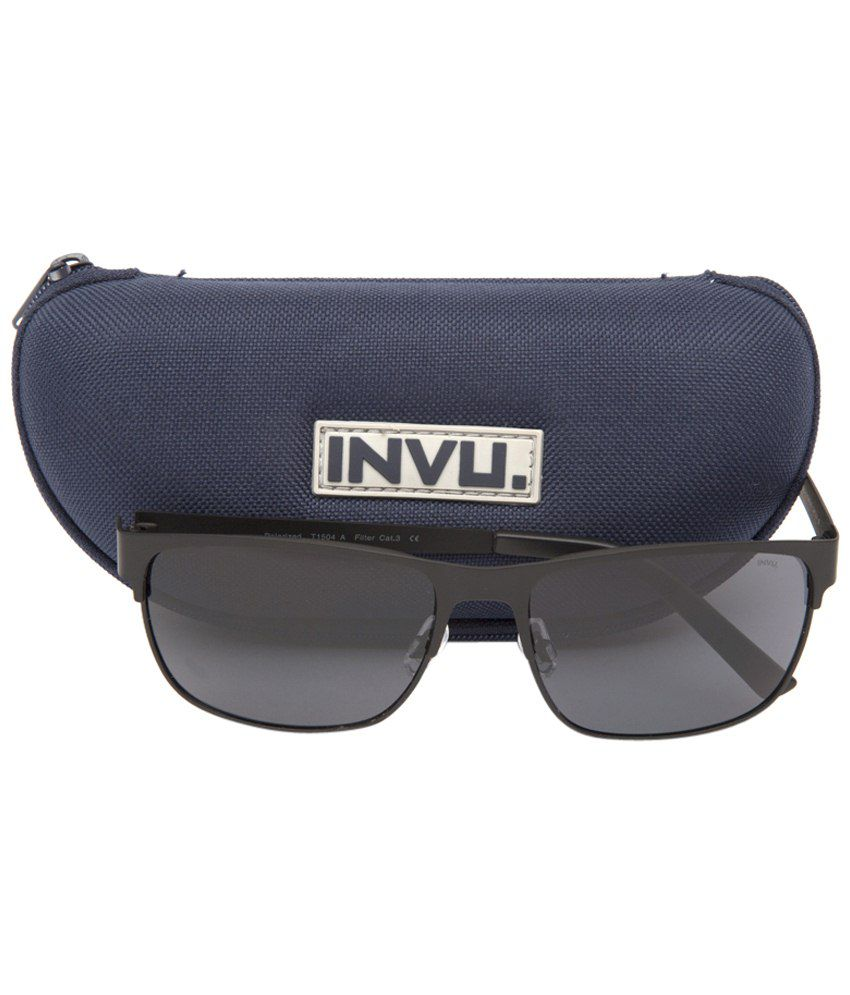 0642f7711c Invu Gray Rectangle Unisex Sunglasses - Buy Invu Gray Rectangle ...