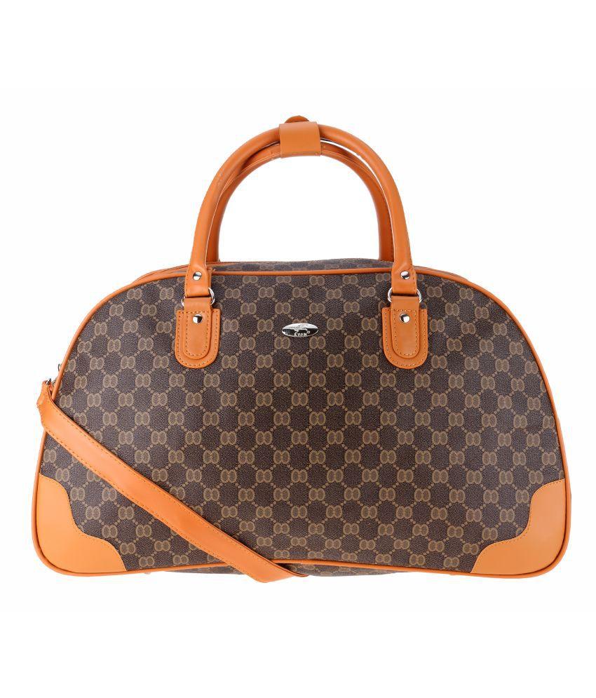 Kalon Brown Shoulder Bag