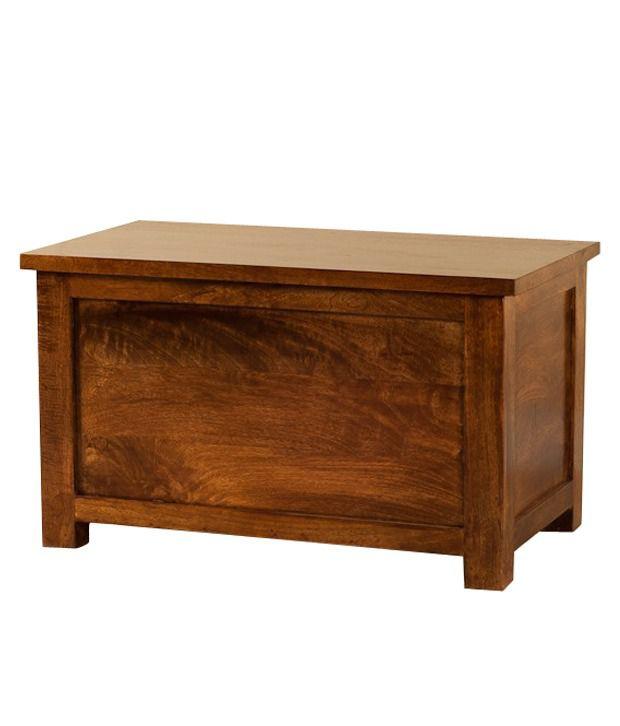 Kraftorium Solid Wood Seat With Storage Best Price In