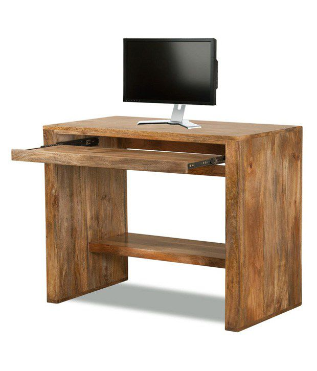 Holden Solid Wood Computer Table - Buy Holden Solid Wood ...