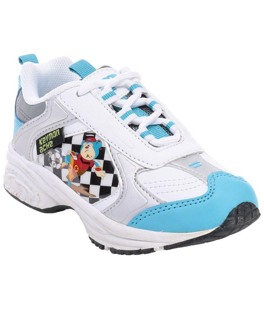 Keymon Blue White Sport Shoes For Girls Price In India Buy Keymon