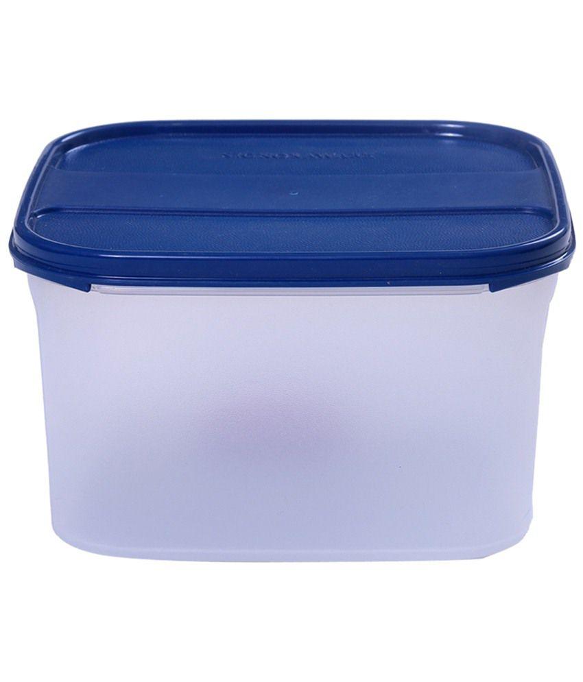 Signoraware Dark Blue Modular Square Storage Container 26 L Buy