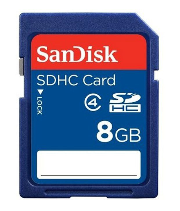 SanDisk Ultra 8GB Class 4 SDHC Memory Card