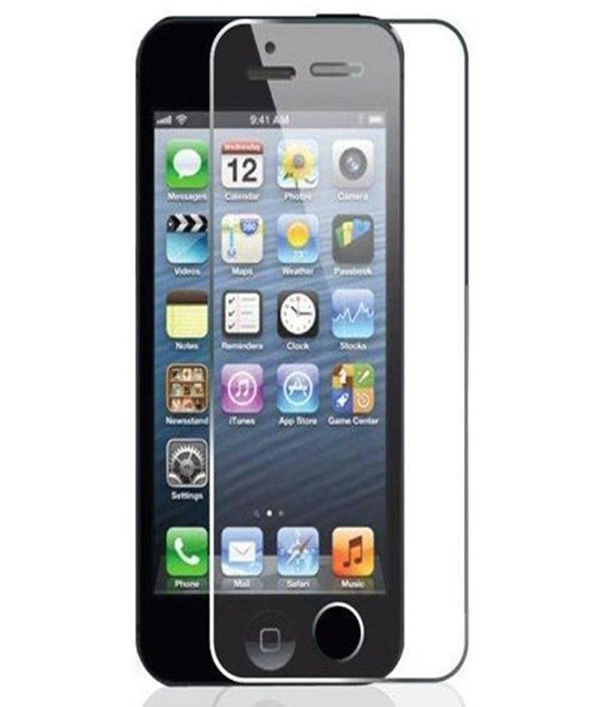 Apple iPhone 4/4S/4G Tempered Glass Screen Guard by Uni Mobile Care