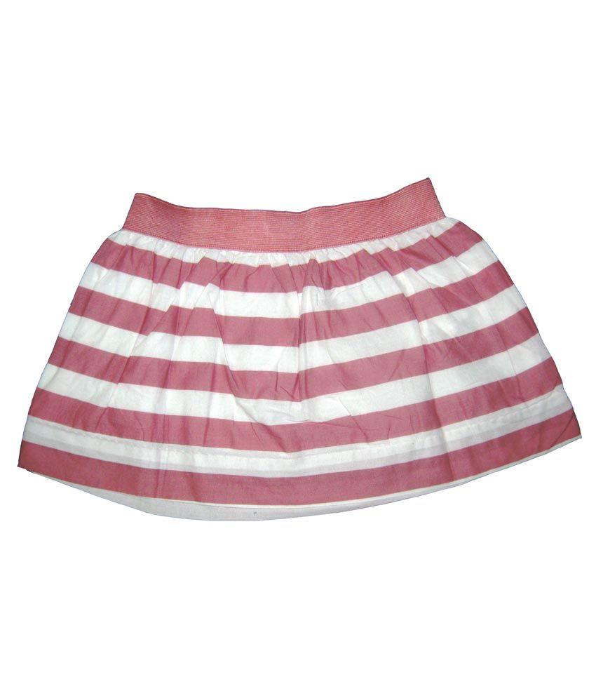 Carmen Casuals Multicolour Cotton Skirt