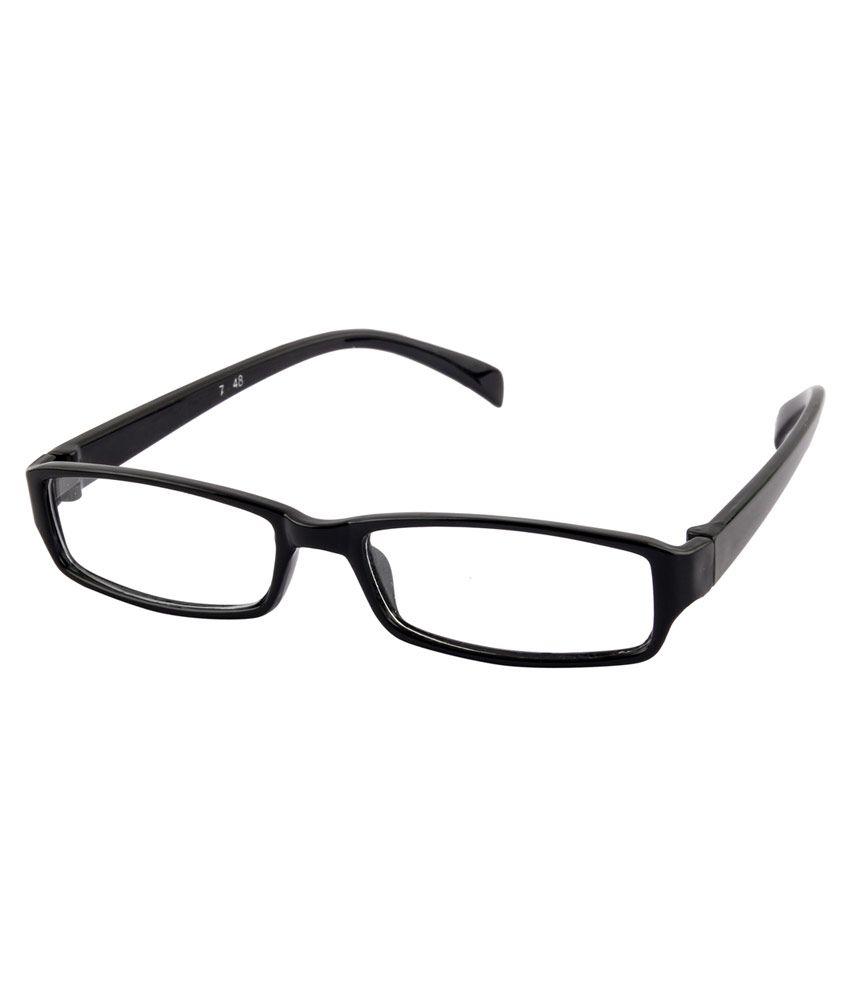 Irayz Stunning Rectangle Size Frame IRZ_2096-FSD - Black and Black