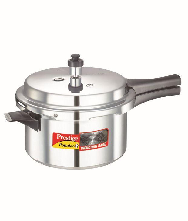 Prestige Popular Plus 4 LTR Outer Lid - Aluminium Pressure Cooker