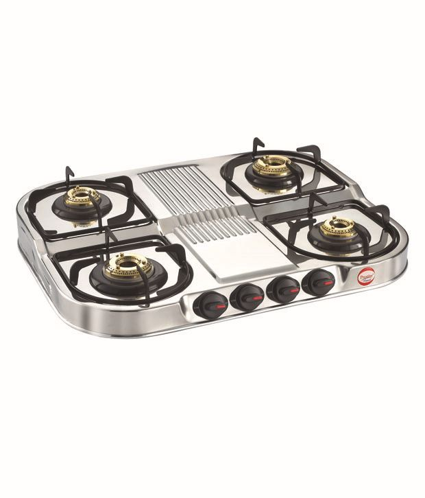 Prestige Royale DGS 04 Stainless Steel Gas Stoves ...