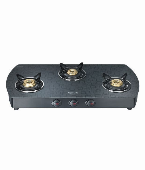 Prestige GTS-03 3 Burner Gas Cooktop