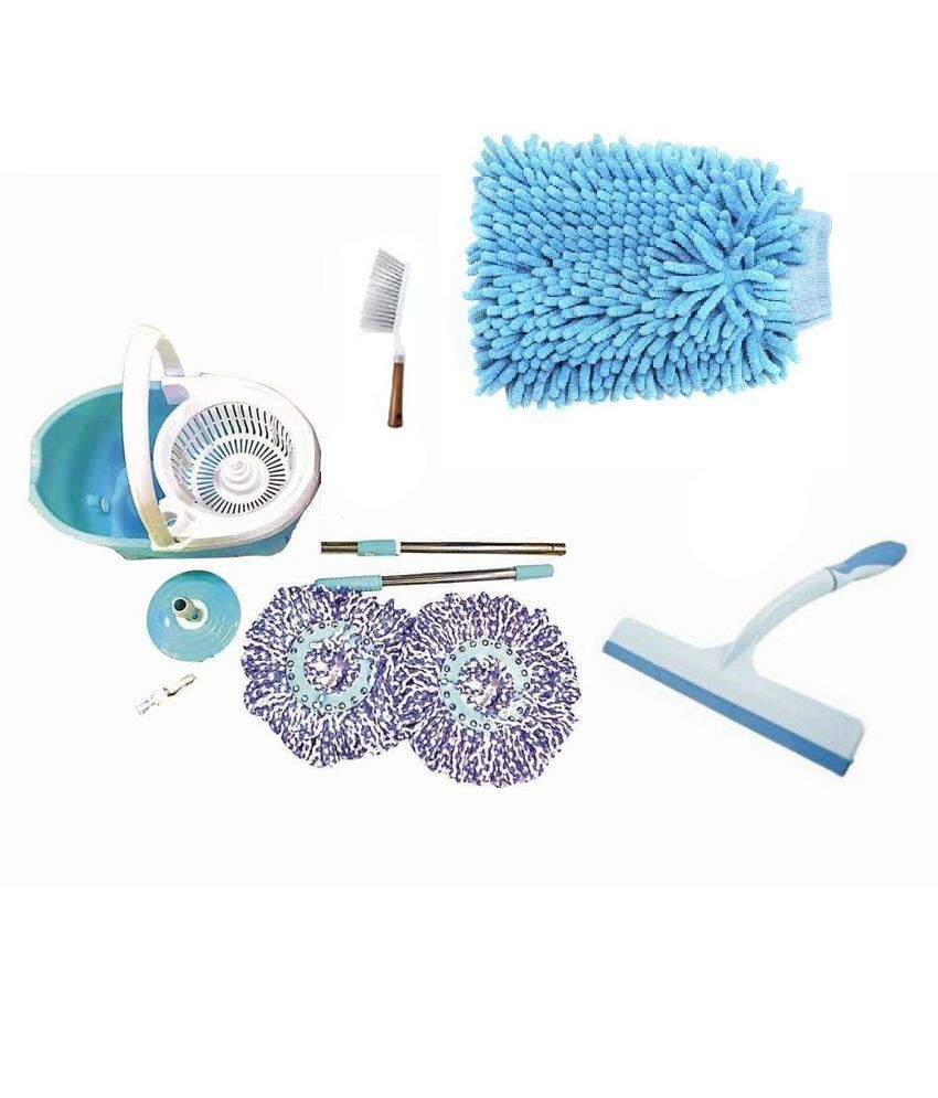 Hand cleaning brush - Nayasa Bestrium Mop Plastic Plus Viper Cleaning Brush And Hand Duster