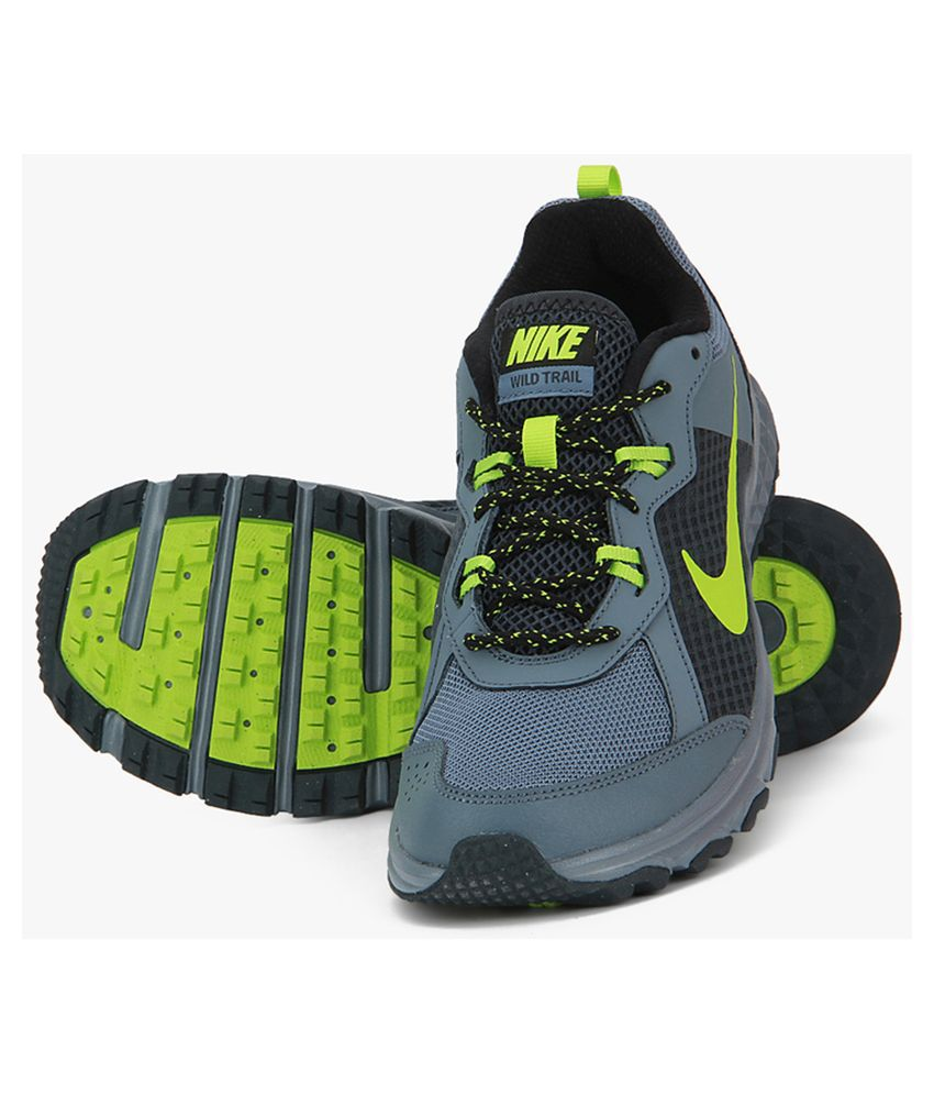 on sale 9e398 6bd24 Nike Wild Trail Grey Sports Shoes Nike Wild Trail Grey Sports Shoes ...