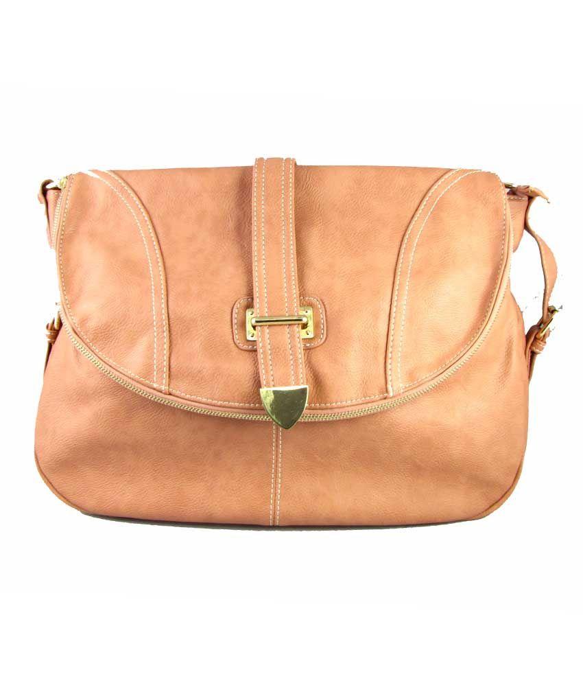 Valios Beige Handbag For Women