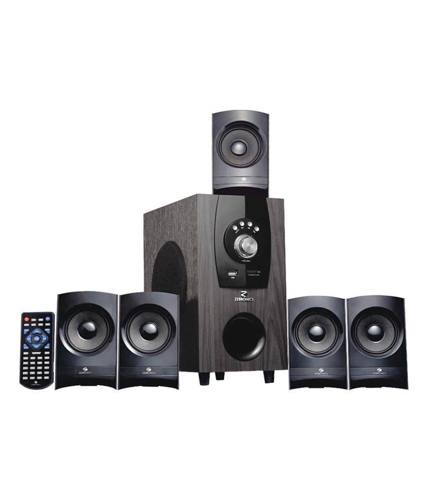 buy zebronics bt6790 5 1 bluetooth speaker system online at best rh snapdeal com