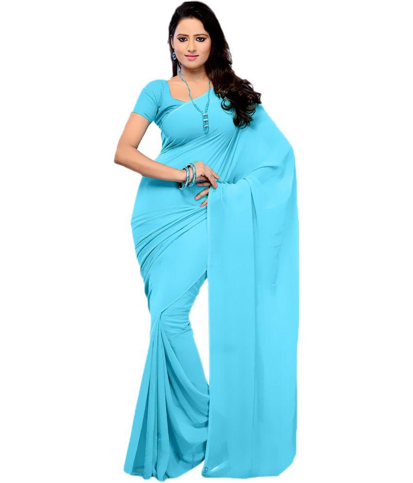 b516233a3 Plain Saree - Buy Plain Saree Online at Low Price - Snapdeal.com