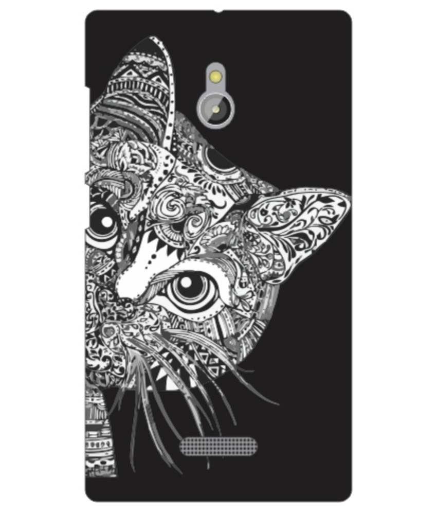 Via Flowers Back Cover For Nokia XL - Multicolor