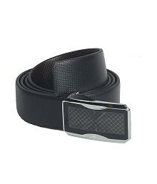 Revo Pure Leather Formal Reversible Belt with Push Buckle