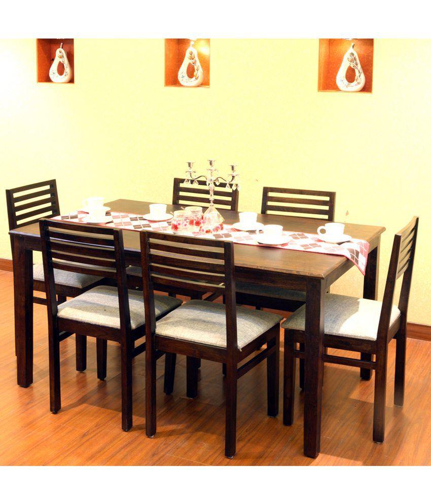 91d662c35f Evok Eastern Dining Table Set 1+6 - Buy Evok Eastern Dining Table ...