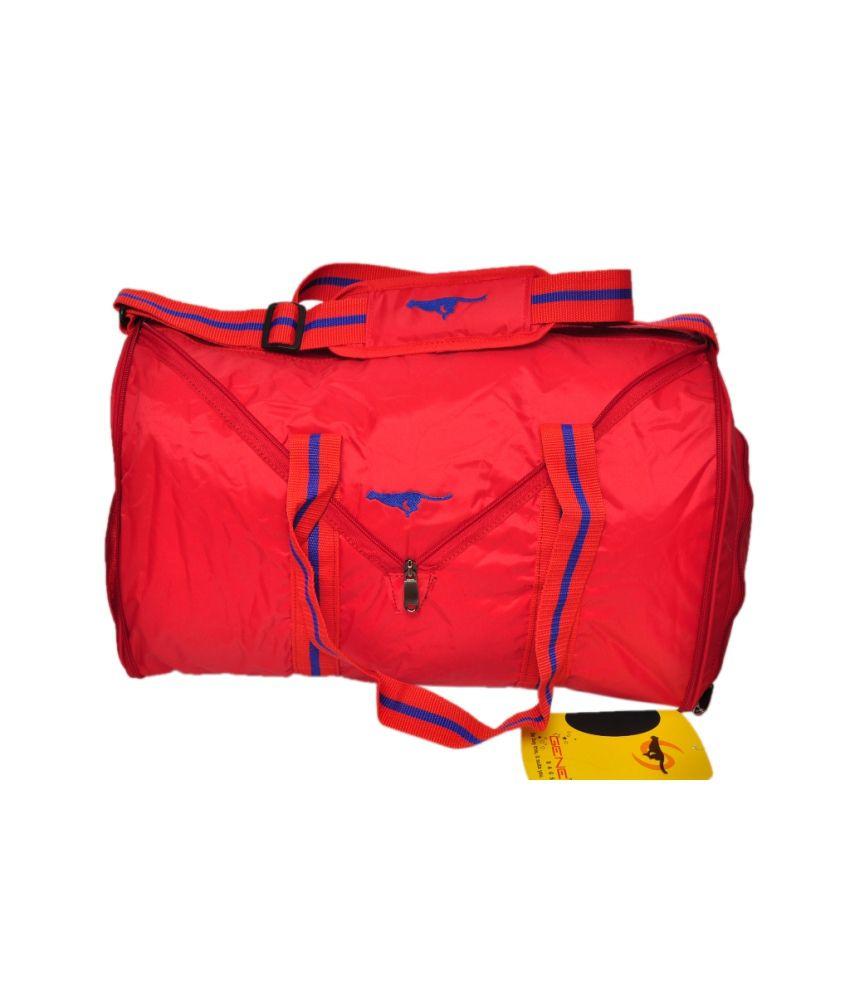 Gene Red gear Gym Bag