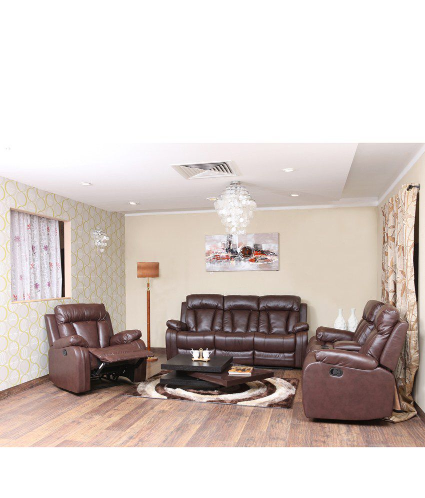 Groovy Magna Recliner Sofa Set 3 2 1 Cjindustries Chair Design For Home Cjindustriesco
