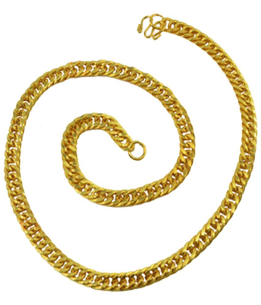 Alpha Man Golden Alloy Chain