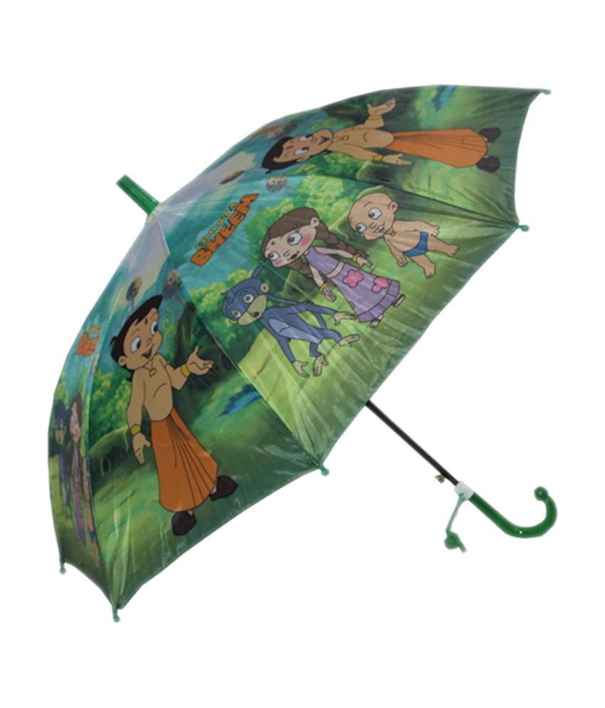 2d0628450 Lal Ji Strong And Durable Chota Bheem Kids Umbrella - Buy Online @ Rs. |  Snapdeal